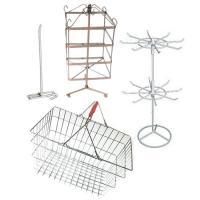Стелажи и въртележки търговско оборудване