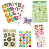 Scrapbooking Stickers Adhesives Decoration DIY Craft Art