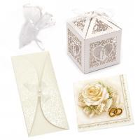 Συσκευασίες δώρου και ευχητήριες κάρτες γάμου