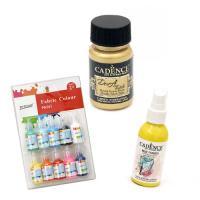 Fabric Paints for Art & Decoration
