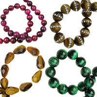 Tigers Eye Gemstones, Bead Strands for Jewellery Making, Necklaces, Beacelets