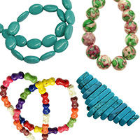 Turquoise Natural and Synthetic Gemstone Beads